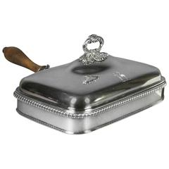 Regency Silver Plated Toasted Cheese Dish by Matthew Boulton
