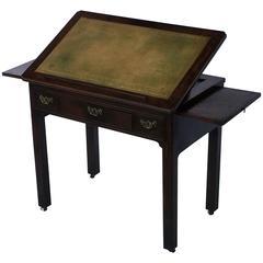 English Architect's Table from the Georgian Era