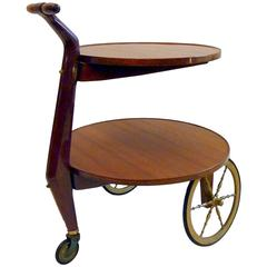 Trolley the Manner of Gio Ponti Italy