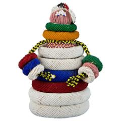 20th Century Tribal Ndebele Fertility Doll