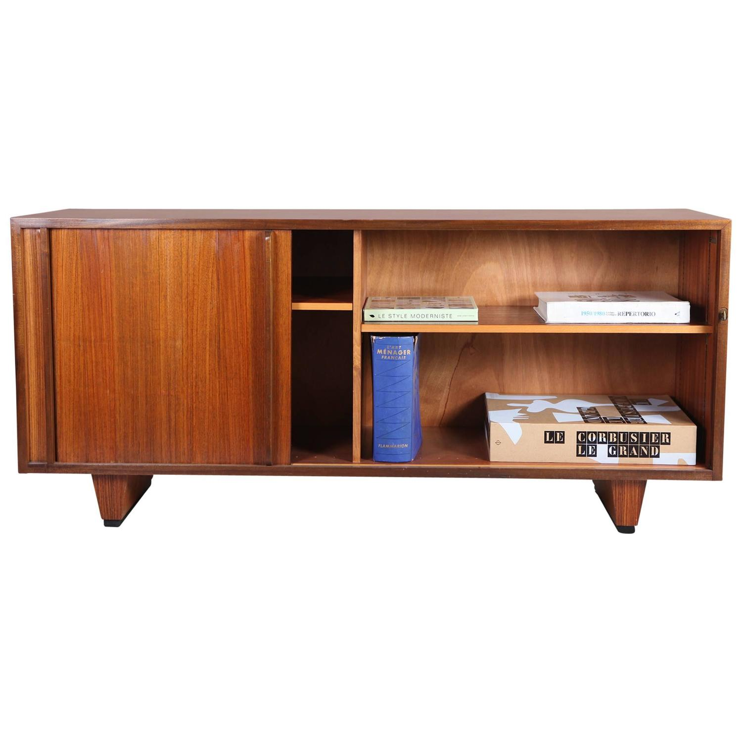 swiss design sideboard bauhaus stil at 1stdibs. Black Bedroom Furniture Sets. Home Design Ideas