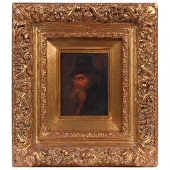 Oil on Board Portrait, School of Hugo Kaufmann