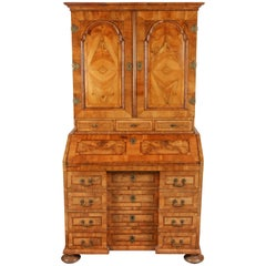 Late 17th Century Northern European Walnut Secretary
