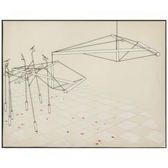 Modernist Drawing by Guy Baldwin