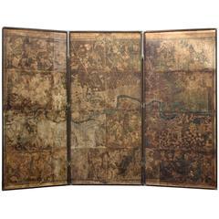 Original Map of London by John Roque, 1741-1745