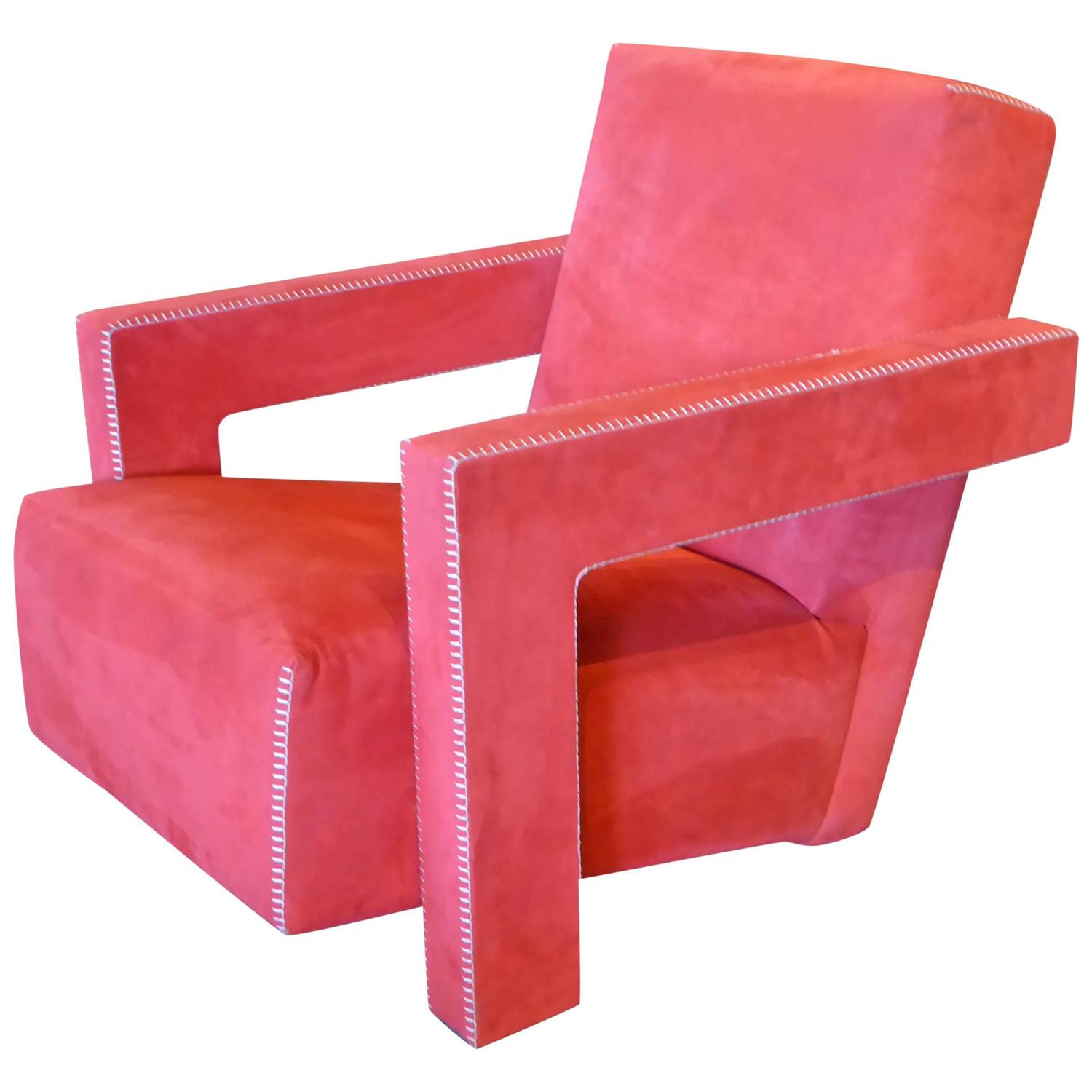 Gerrit Rietveld Utrecht Chair by Cassina at 1stdibs