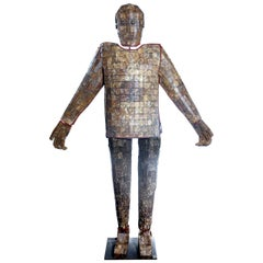 Amazing Full Size Hardstone Burial Suit