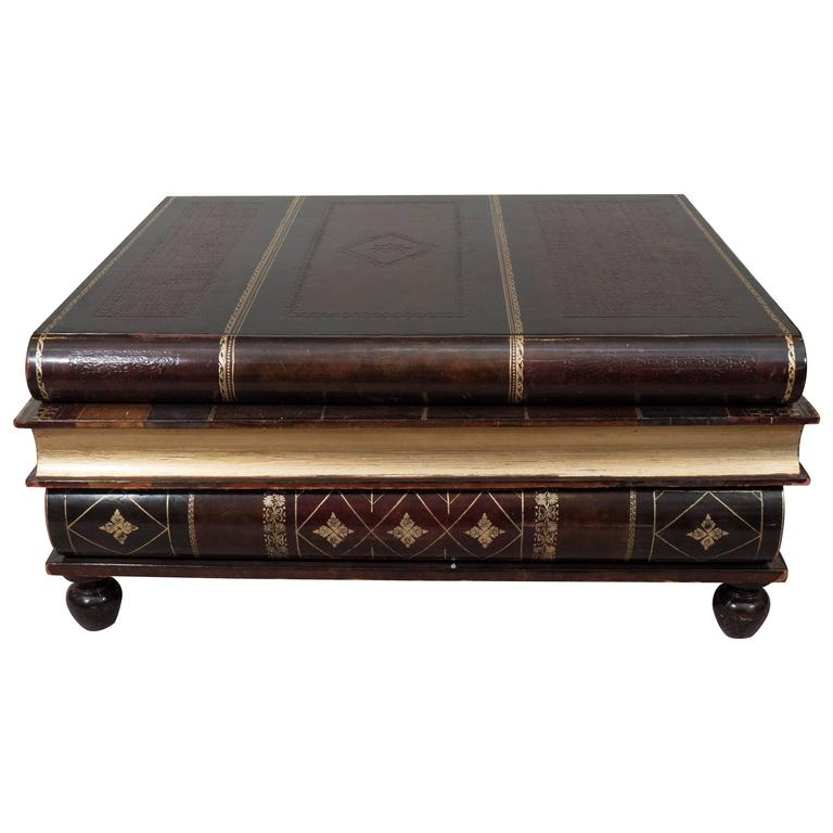 Maitland Smith Stacked Books Coffee Table 1