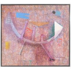 Remo Farruggio 'Fantasy' Oil on Canvas, Signed