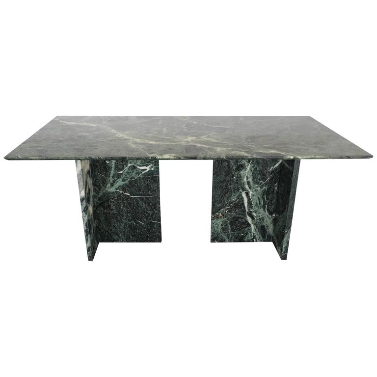 Italian Green Marble Dining And Conference Table At Stdibs - Marble conference table for sale
