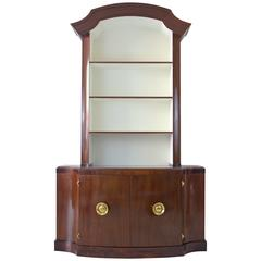 Stunning Paul Frankl Mahogany Bookcase, Dining Hutch