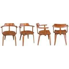 """""""W199"""" Armchairs by Walter Gropius"""