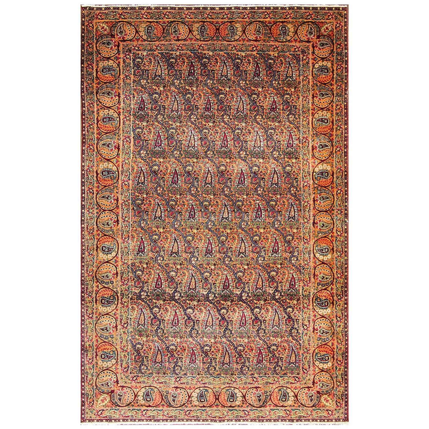Exquisite Laver Kerman Rug For Sale At 1stdibs