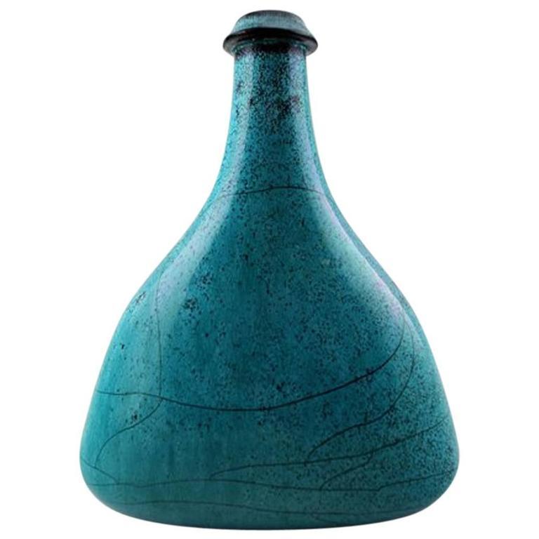 k hler hak glazed vase bottle shaped 1930s for sale at 1stdibs. Black Bedroom Furniture Sets. Home Design Ideas