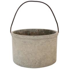 Bucket in the Style of Willy Guhl