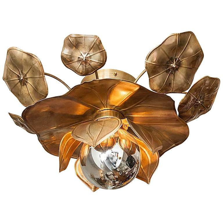 Lotus Flower Ceiling Lights For Sale