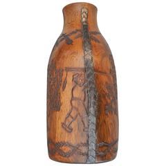 19th Century Monoxyle Bottle