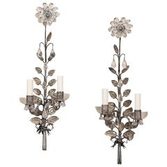 Pair of French Sconces attributed to Maison Bagues
