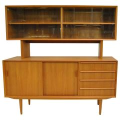 Mid Century Modern Sun Coast Credenza With Hutch By Kipp
