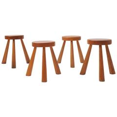 Charlotte Perriand Stools for Les Arcs