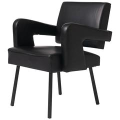 Jacques Adnet Armchair
