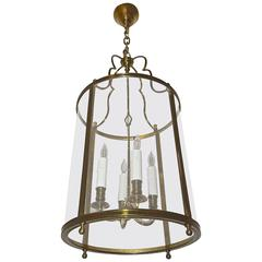 Maison Baguès French Bronze Ceiling Lantern Light