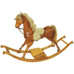 Unique and Historically Important Rocking Horse by David Ebner, 1974