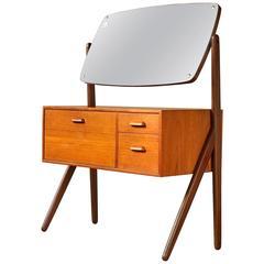 Petite Danish Modern Vanity