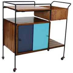 Arthur Umanoff Bar Cart