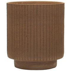 David Cressey Ceramic Planter, 'Lines' Design, 1960s