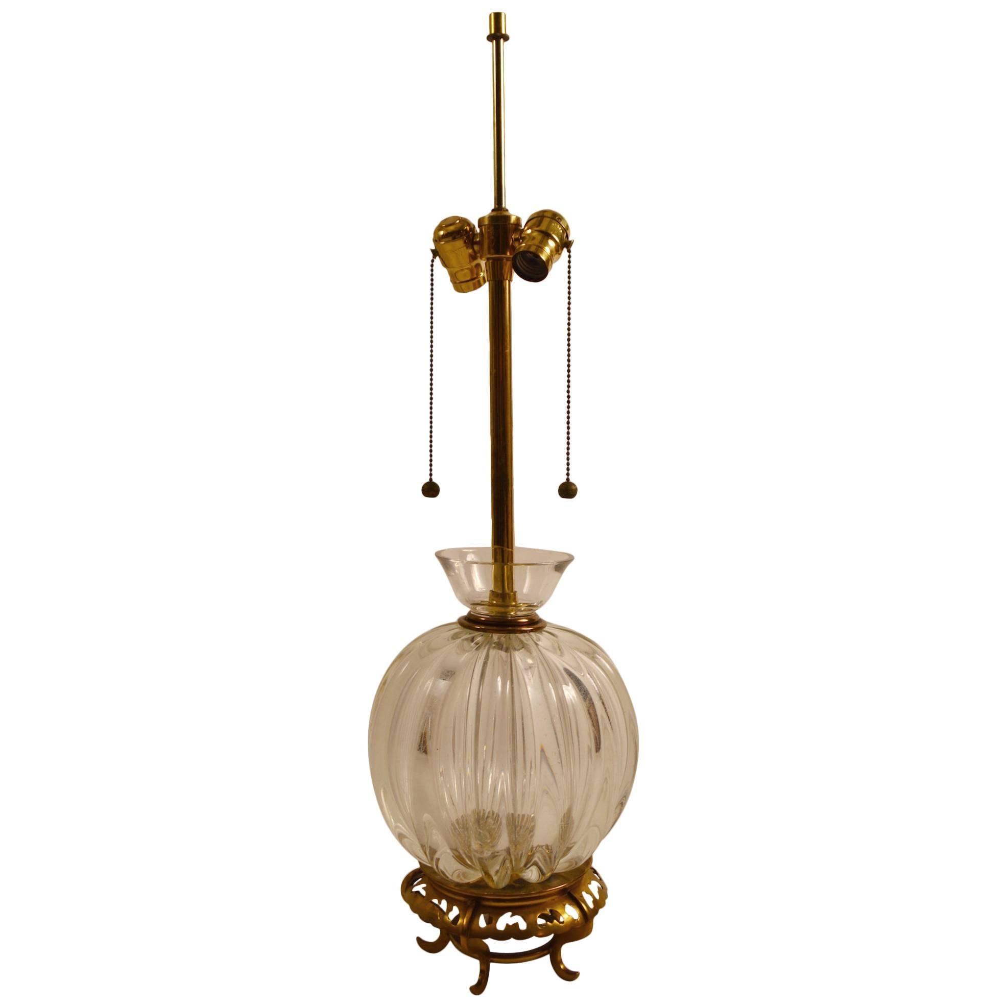 Murano Lamp by Marbro