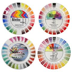 Blythe Factory Artist Color Sample Plates