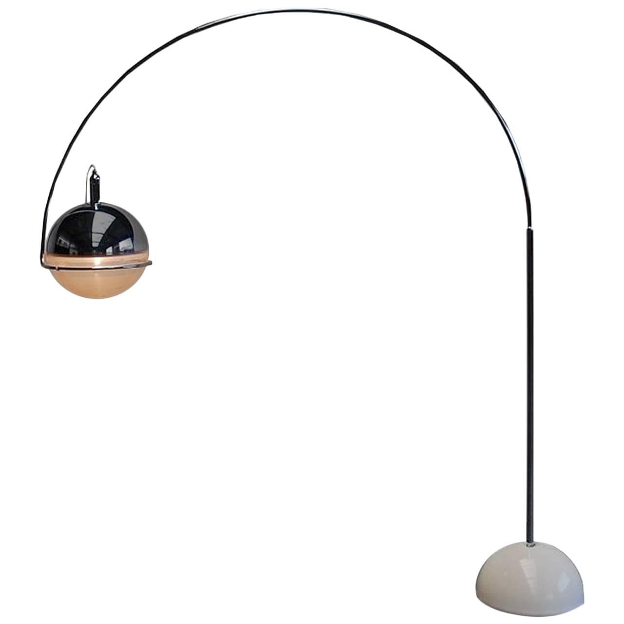 Arc Lamp By Fabio Lenci Italy Circa 1960 For Sale At 1stdibs