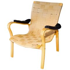 Mid-Century Swedish Lounge Chair Designed by G. A. Berg