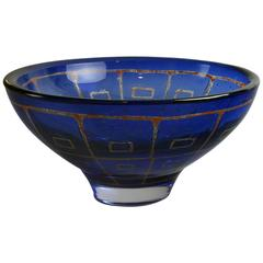 "Large ""Ravenna"" Bowl by Sven Palmquist for Orrefors"