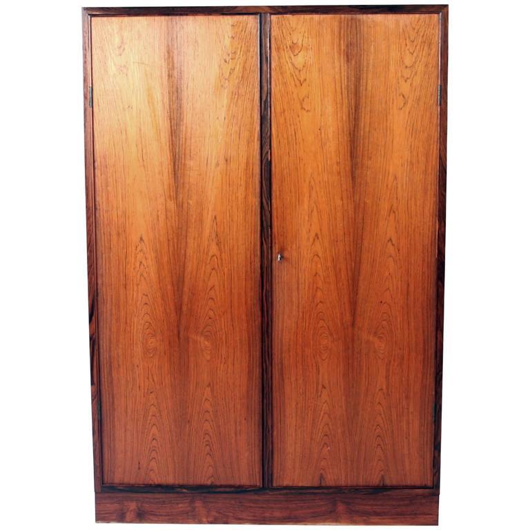 Palle Suenson, Unique Rosewood Cabinet 1940s