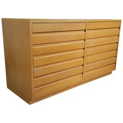 Modernist Eight Drawer Dresser, Sligh Furniture