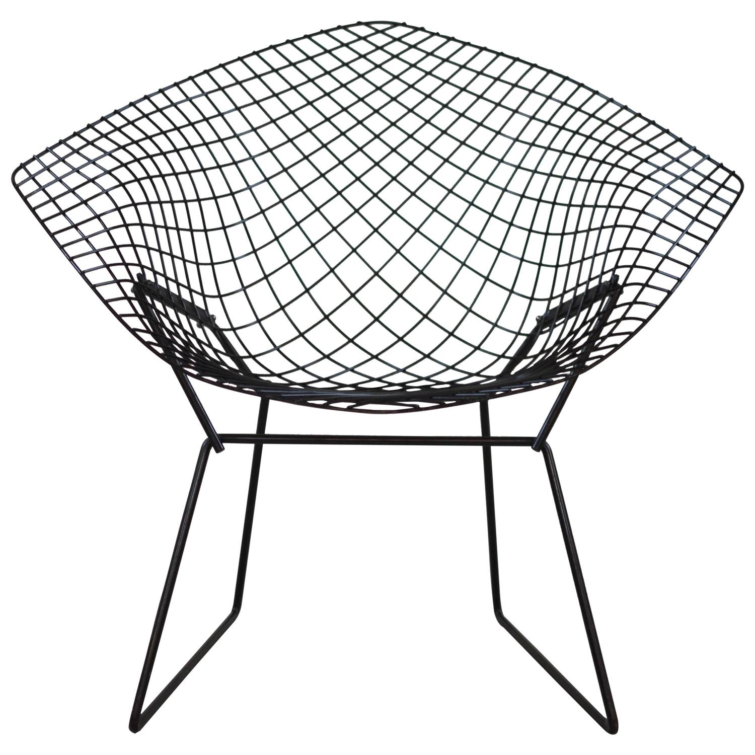 diamond chair by harry bertoia knoll at 1stdibs. Black Bedroom Furniture Sets. Home Design Ideas