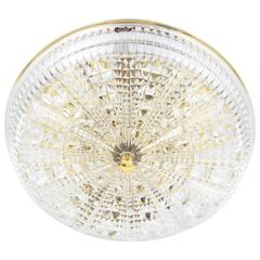 Mid-Century Modern Ceiling Light by Carl Fagerlund Model Cristal Design