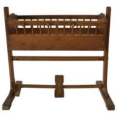 Pine Rocking Cradle