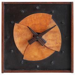 Jere Osgood Rosewood Table Clock