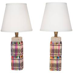 "Pair of ""Crayola"" Table Lamps"