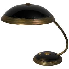 Dome Shade Desk Lamp by Helo, German, 1950s