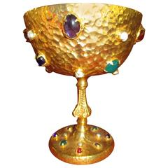 Jeweled Chalice by Stefano Tanasescu Morelli, Mexico CIty