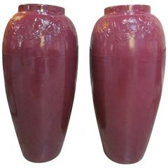 Pair of 1950s Ceramic Jardinieres