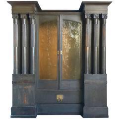 Jugendstil Library Cabinet