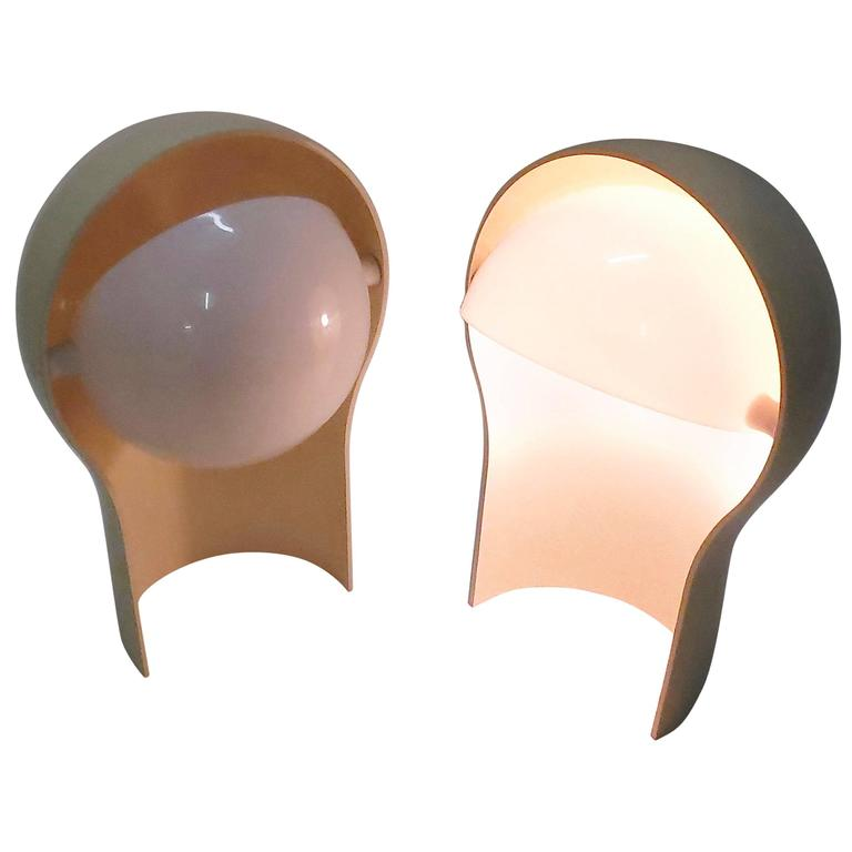 Pair of Vintage Telegono Lamps by Vico Magistretti for Artemide, Italy, 1968