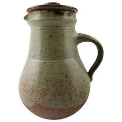 Gutte Eriksen for Nymolle Ceramic Pot with Lid