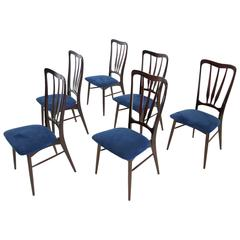 Set of Six Dining Chairs by Niels Kofoed