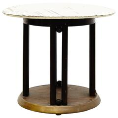 Josef Hoffmann Side Table for Kohn, circa 1920
